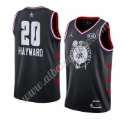 Camisetas NBA Baratas Boston Celtics 2019 Gordon Hayward 20# Negro All Star Game Swingman..